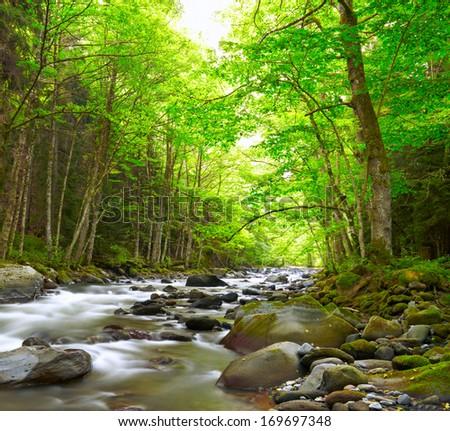 description mountain river natural - photo #16