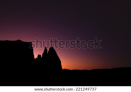 Mountain sunset, Sciliar (alt 2563m), Italy