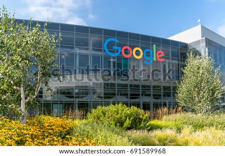 fantastic google office califoniyaamerica. mountain view causa july 30 2017 google corporate headquarters and fantastic office califoniyaamerica