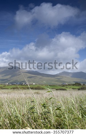 Mountains and Cloudscape in Dingle Peninsula, Ireland