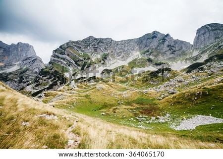 mountains, national park Durmitor, Montenegro