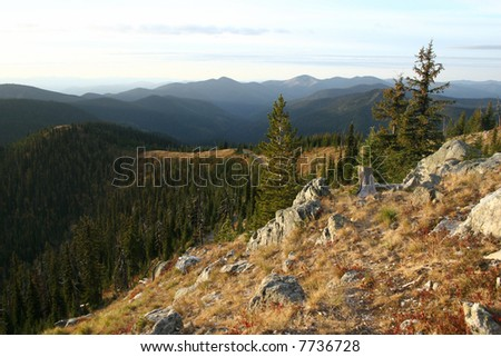 Mountains of northeast Washington