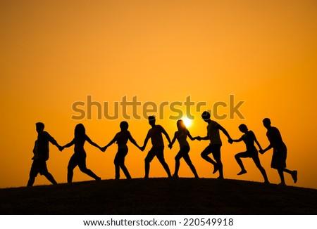 Movement - stock photo