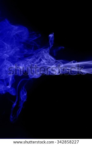 Movement of smoke