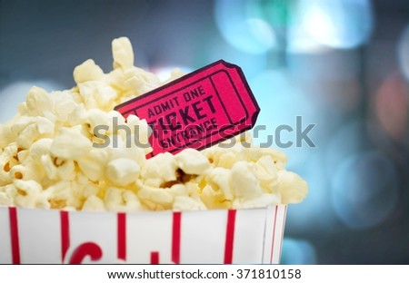 Movie. - stock photo