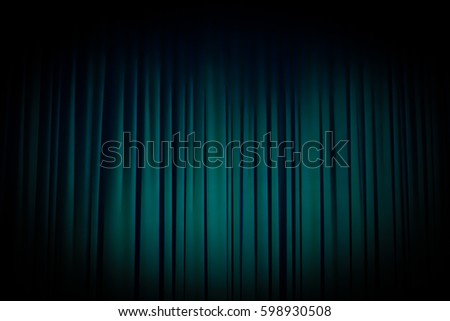 Curtain Green Spotlight Theater Stock Images, Royalty-Free Images ...