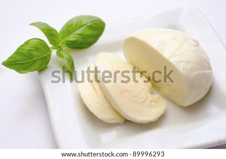 mozzarella - stock photo