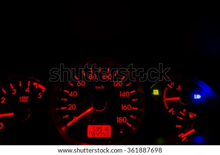 Mph speedometer engine Cycle