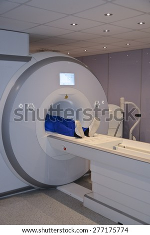 MRI scanner - stock photo