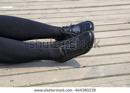 Ms black shoes