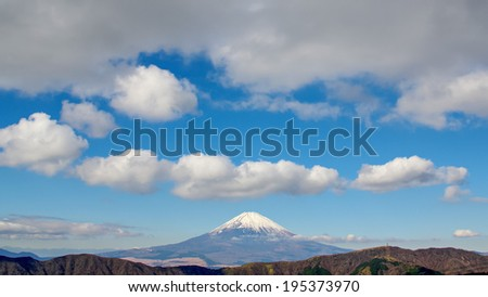 Mt Fuji - stock photo