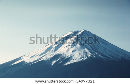 Mt. Fuji - stock photo