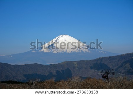 Mt. Fuji, Japan - stock photo