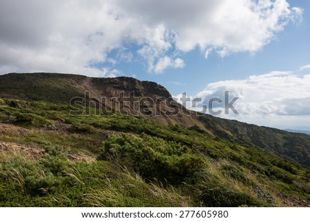 Mt.Kumanodake Zao - stock photo