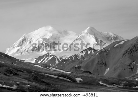 Mt. McKinley - stock photo