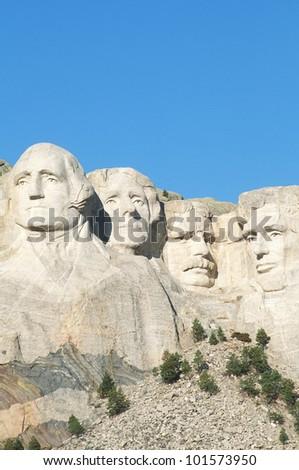 Mt. Rushmore National Monument near Rapid City, South Dakota - stock photo