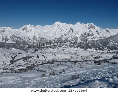 Mt  Saentis in the winter