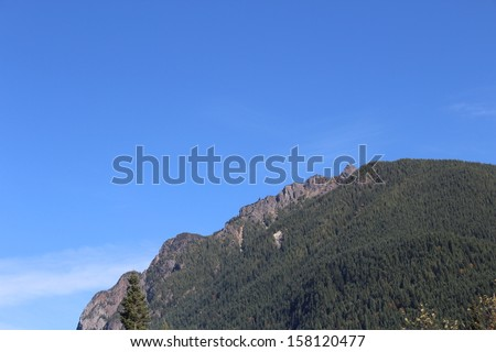 Mt. Si Near North Bend Washington