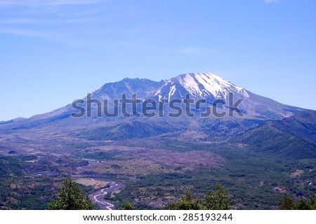 Mt. St. Helens - stock photo