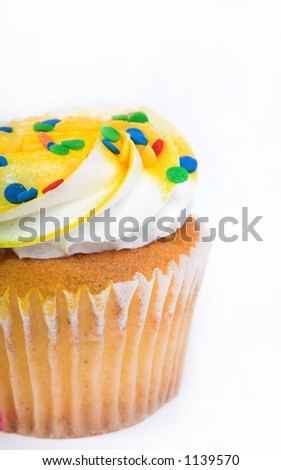 Muffin with frosting