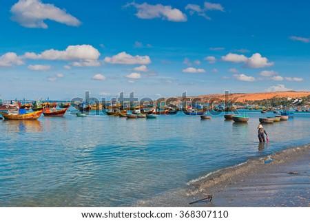 Mui Ne beach, Vietnam - stock photo