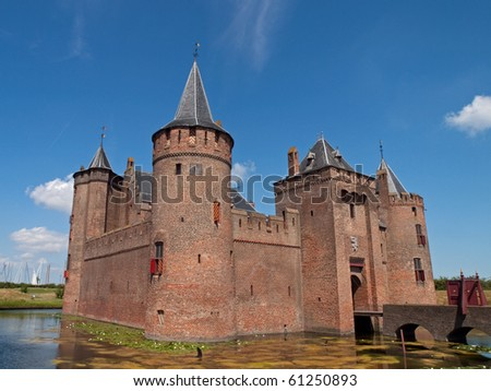 Muiderslot castle in the Netherlands.