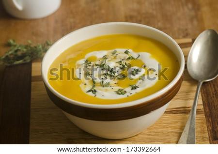 Mulligatawny soup - stock photo