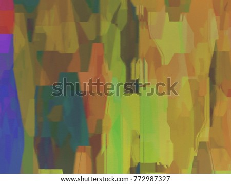 Multi-color Abstract Design Background