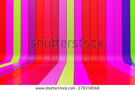 multi-colored striped background for your design - stock photo