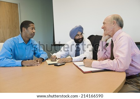 Multi Ethnic Business Meeting - stock photo