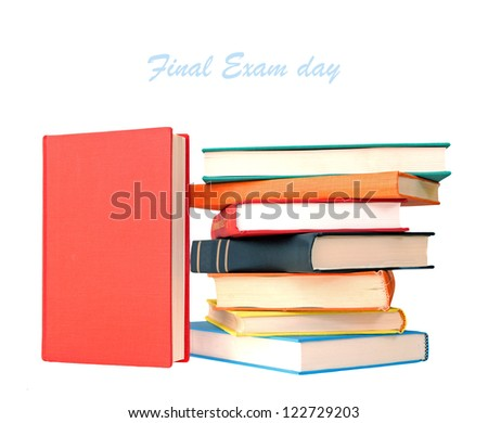 multicolor  books for education designed