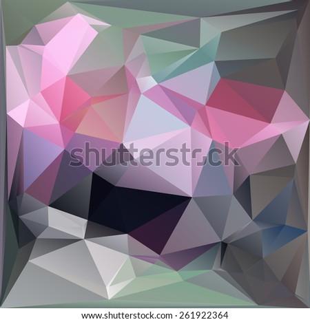 Multicolor Design Templates. Geometric Triangular Abstract Modern Raster version Background.  - stock photo