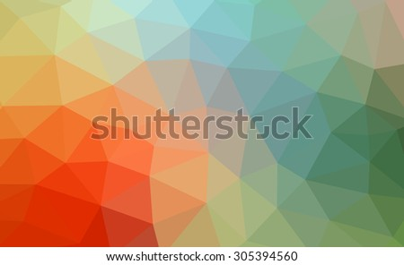 Multicolor geometric pattern. Triangles background. Raster polygonal design for your business.