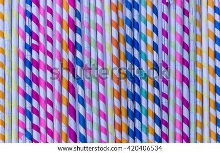 Multicolor paper background. - stock photo