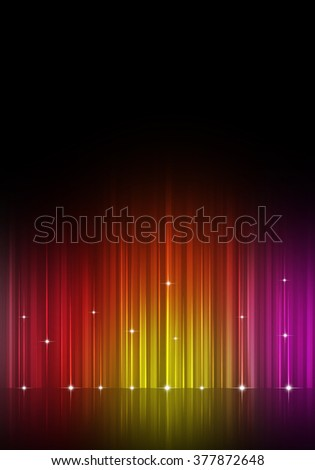 multicolor party music equalizer for flyers and night club posters - stock photo