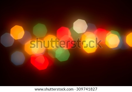 Multicolored bokeh lights background,abstract blurred lights