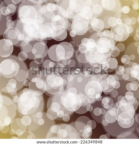 Multicolored bokeh vintage - stock photo