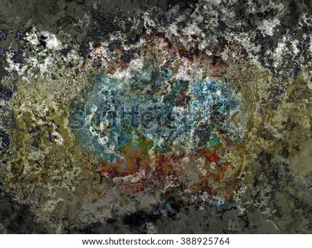 Multicolored creative abstract grunge background