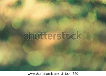 Multicolored defocused bokeh lights background,retro effect - stock photo