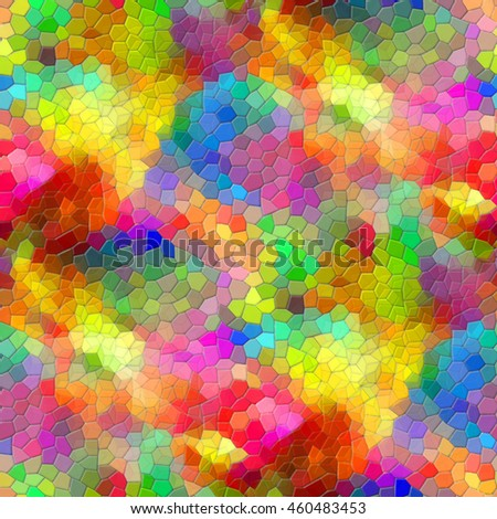 Multicolored mosaic - seamless background