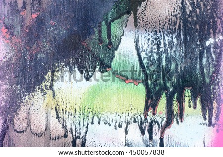 multicolored painted metal background texture - stock photo