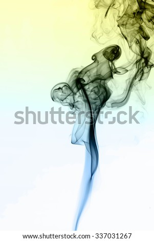 multicolored smoke natural abstract background