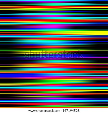 Multicolored vibrant abstract graduated stripes pattern. - stock photo