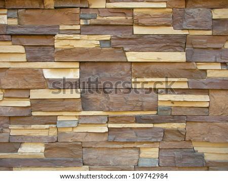 Multicoloured textured wood background - stock photo