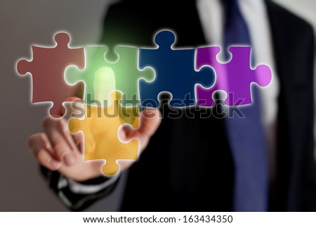 multimedia technology - stock photo