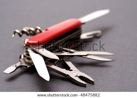 Multipurpose Knife - stock photo