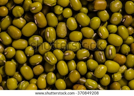 mung dal beans macro photo - stock photo