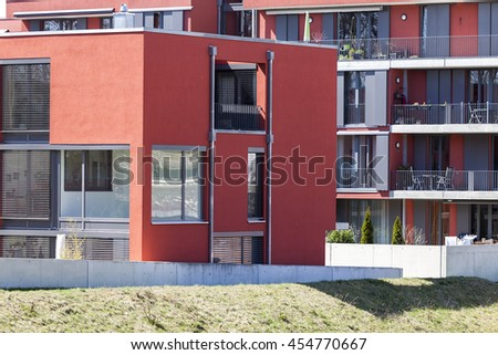 Munich, Germany- June 25, 2016: Modern Home
