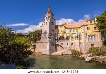 Municipal museum in Cascais, Lisbon area, Portugal. - stock photo
