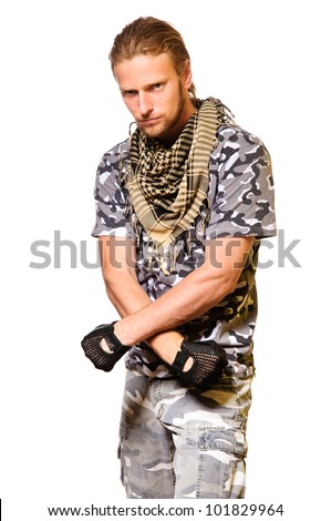 Man With Sword Stock Photos, Pictures & Royalty-Free